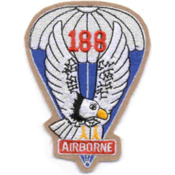 188th Airborne Infantry Regiment Patch - Version A