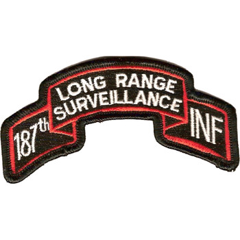 187th LRS Infantry Patch