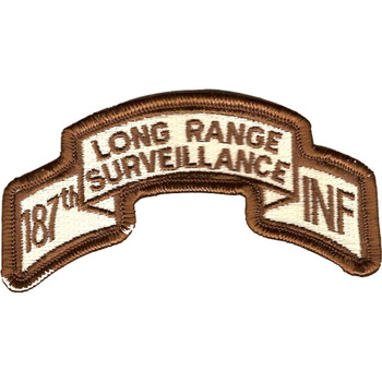 187th LRS Infantry Desert Patch