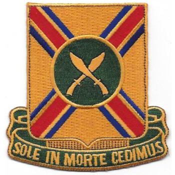 187th Armored Cavalry Regiment Patch