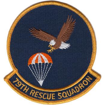 79th Rescue Squadron Patch