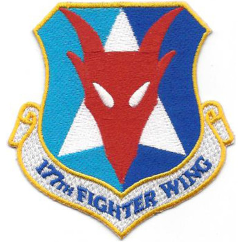 177th Fighter Wing Patch