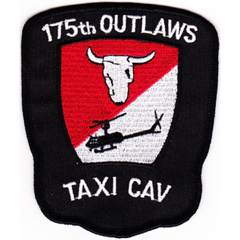 175th Combat Aviation Company Patch Outlaws Color