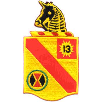 79th Field Artillery Battalion Patch 13