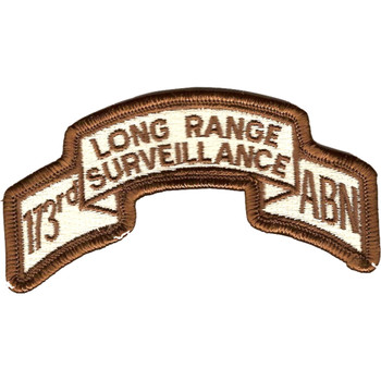 173rd LRS Airborne Infantry Desert Patch