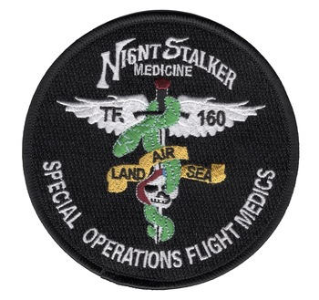160th Special Operations Aviation Regiment Patch Flight Medics