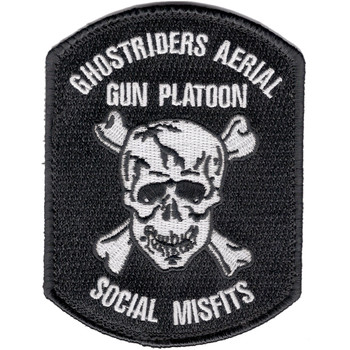 160th SOAR Ghostriders Patch Hook And Loop