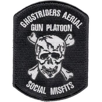 160th SOAR Ghostriders Patch Hook And Loop