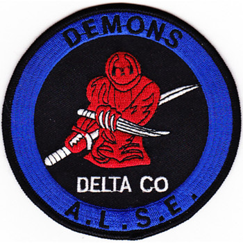 78th Aviation Life Support Equipment Battalion D Company Patch ALSE