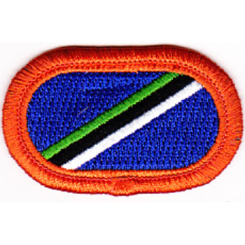 160th Aviation Airborne Group Patch Oval