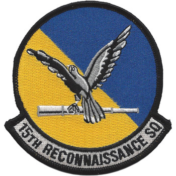 15th Recon Drone Squadron Patch