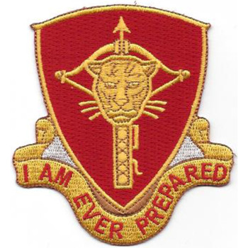 15th Ordnance Battalion Patch