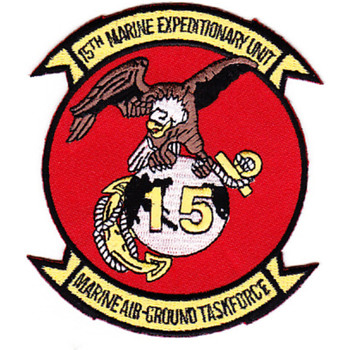 15th Marine Expeditionary Unit Patch - Air-Ground Task Force