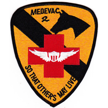 15th Med Battalion 1st Cavalry Division Army Aviation Air Ambulance Patch