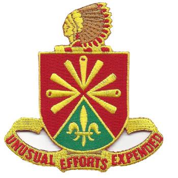 158th Field Artillery Regiment Patch