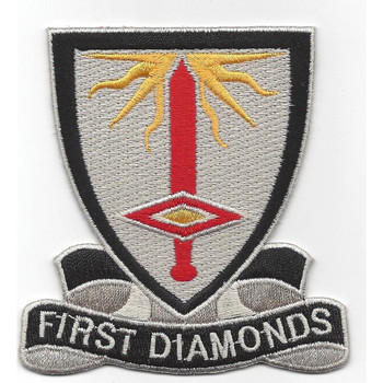 1st Finance Battalion Patch