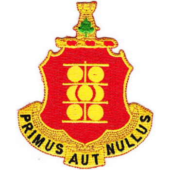 1st Field Artillery Regiment Patch