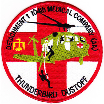 1st Detachment 104th Aviation Medical Company Air Ambulance Patch