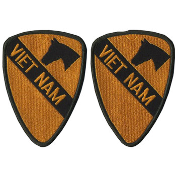 1st Cavalry Division Vietnam Patch (Set)
