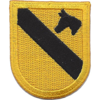 1st Cavalry Division Flash Patch HQ