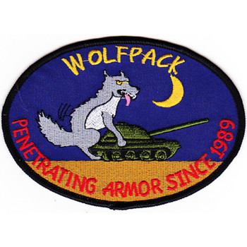 1st Battalion Reconnaissance 82nd Aviation Regiment Wolfpack Patch