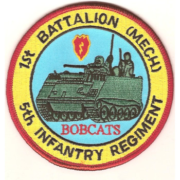 1st Battalion Mechanized 5th Infantry Regiment Patch