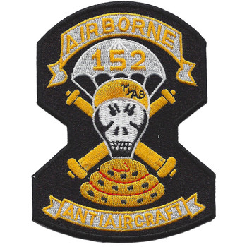 152nd Airborne Anti-Aircraft Battalion Patch