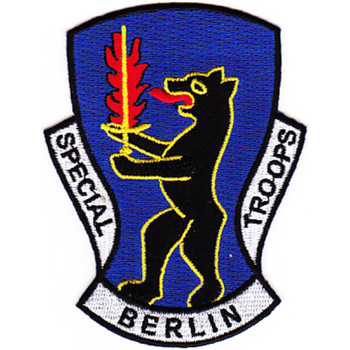 7781st Composite Service Brigade Patch Special Berlin Troops