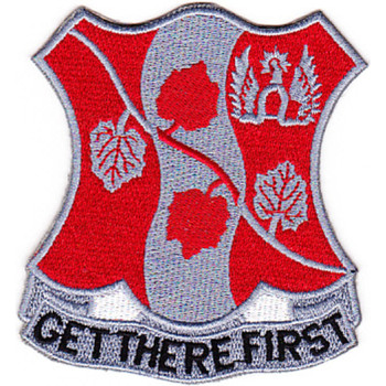151st Chemical Battalion Patch