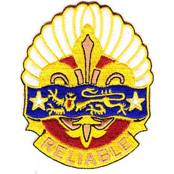 14th Transportation Battalion Patch