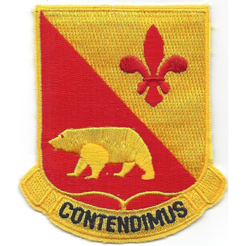 144 Fa Bn/225th Armored Field Arty Bn Patch