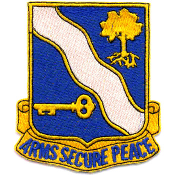 143rd Infantry Regiment Patch