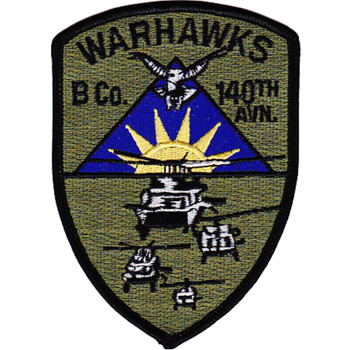 140th Aviation Regiment B Company Patch