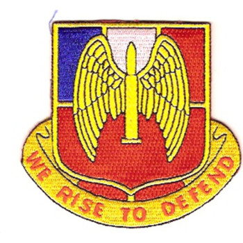 76th Anti-Aircraft Artillery Battalion Patch