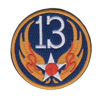 13th Air Force Shoulder Patch