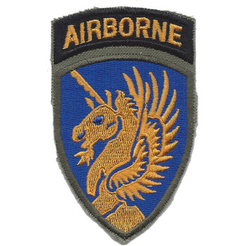 13th Airborne Infantry Division Patch Airborne