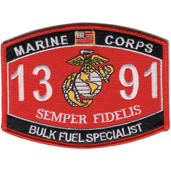1391 Bulk Fuel Specialist MOS Patch