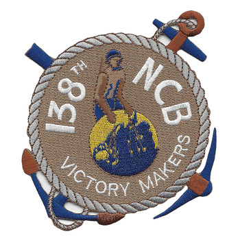 138th Mobile Construction Battalion WWII Patch