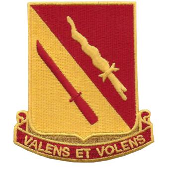 137th Field Artillery Battalion Patch