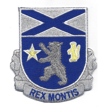 136th Infantry Regiment Patch