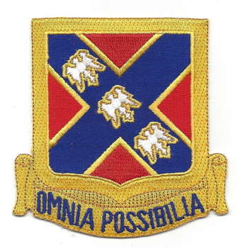 135th Field Artillery Regiment Patch
