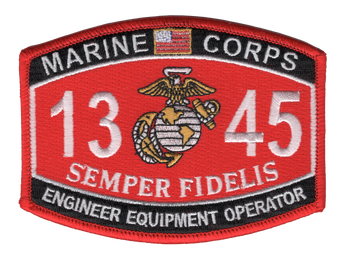 1345 Engineer Equipment Operator MOS Patch