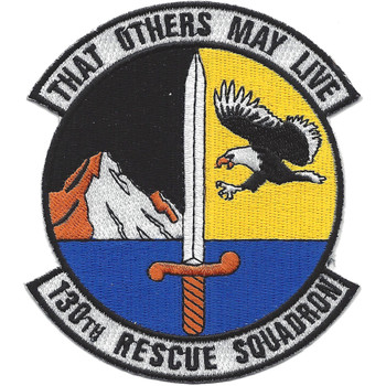 130th Rescue Squadron patch