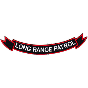75th Rangers Long Range Patrol Patch