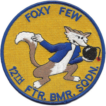 12th Fighter Bomber Squadron Patch