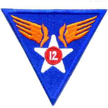 12th Air Force Shoulder Patch