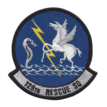 129th Rescue Squadron Patch