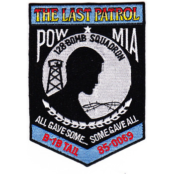 128th Bomb Squadron Patch