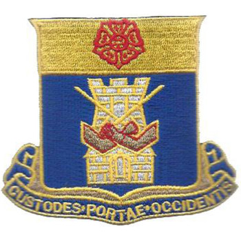 186th Infantry Regiment Patch