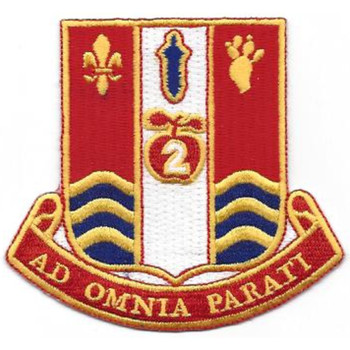 186th Field Artillery Regiment Patch